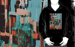 Wear Art - Black Men's Hoodie from redbubble.com/people/aplace4us